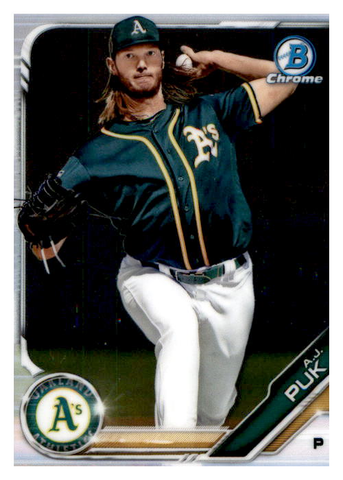2019 Bowman Chrome Prospects Team Set - Oakland A's Series 1