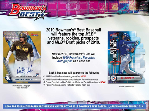 2019 Bowman's Best Base Cards Singles