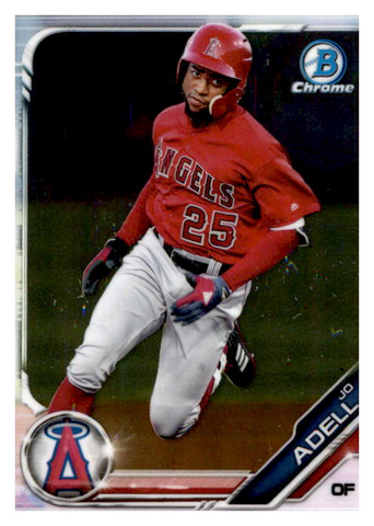 2019 Bowman Chrome Prospects Team Set - Los Angeles Angels Series 1