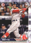 2019 Bowman Baseball  #50 Mookie Betts - Boston Red Sox