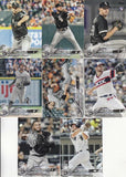 2018 Topps Series 2 Team Set - CHICAGO WHITE SOX (8 cards)