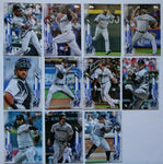 2020 Topps Series 1 Miami Marlins Team Set (11 Cards)