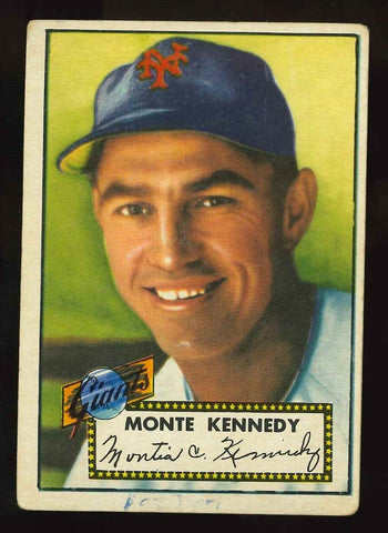 1952 Topps #124 Monte Kennedy - New York Giants