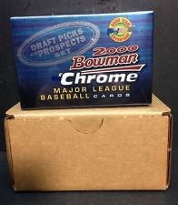 2000 Bowman Chrome Draft Factory Sealed Set 110 Cards ADRIAN GONZALEZ WAINWRIGHT - Free Shipping