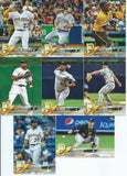 2018 Topps Series 1 & 2 & Update Set  Pittsburgh Pirates - (30 Cards)