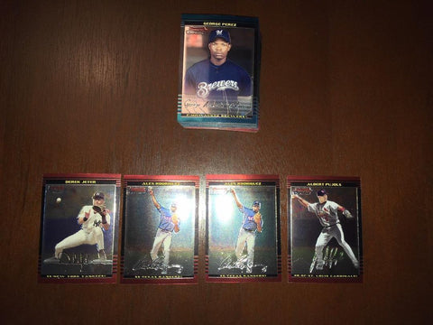 2002 Bowman Chrome -  Singles
