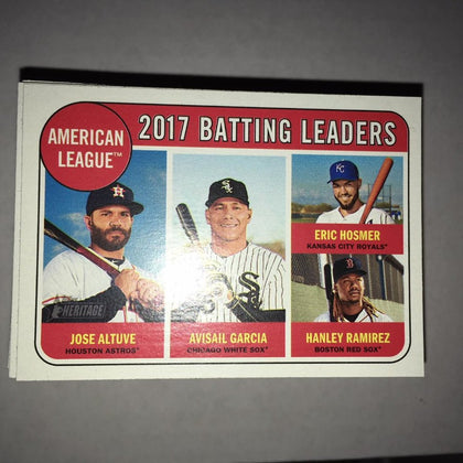 2018 Topps Heritage 1-100