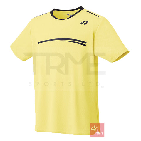 Yonex 10277 Men's Crew Neck Shirt (Stan Wawrinka 2019 Australian Open Collection)