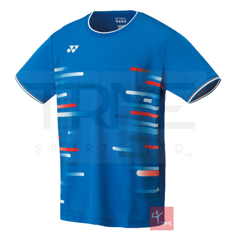 Yonex 10286 Men's Crew Neck Shirt - Blue