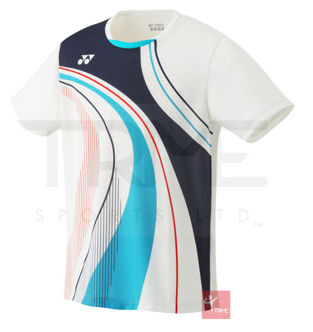 Yonex 10290 Men's Crew Neck Shirt (Limited Edition) - White
