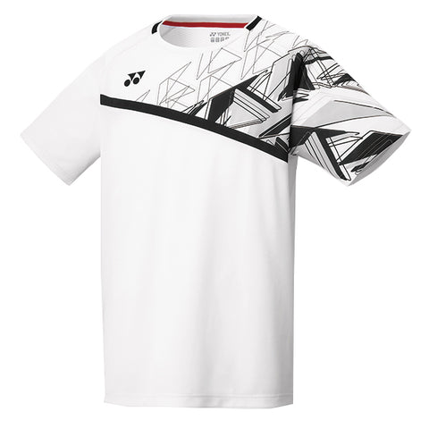 Yonex 10335 Men's Crew Neck Shirt - White (Donated by Badminton Player Marcus Ellis)