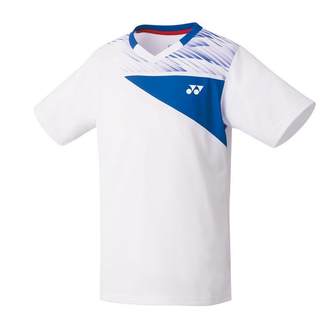 Yonex 10347J Junior Crew Neck Shirt - White