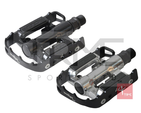 Wellgo C002 Clipless Mountain / Touring Bike SPD Pedals with Cleats