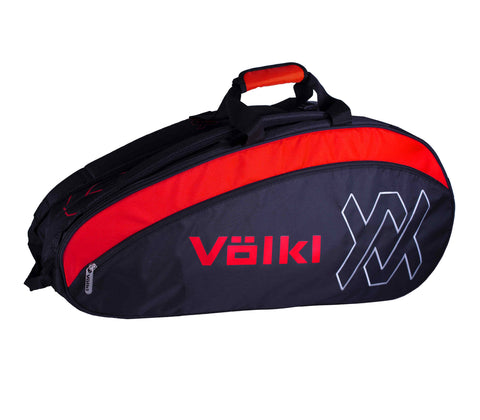 Volkl Tour Combi Racket Bag (Black / Lava)