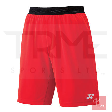 Yonex 15075 Men's Shorts - Fire Red