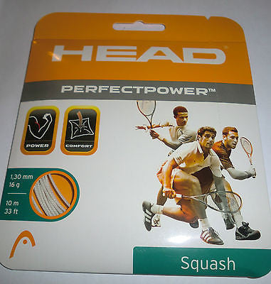 Head Perfect Power Squash String Set