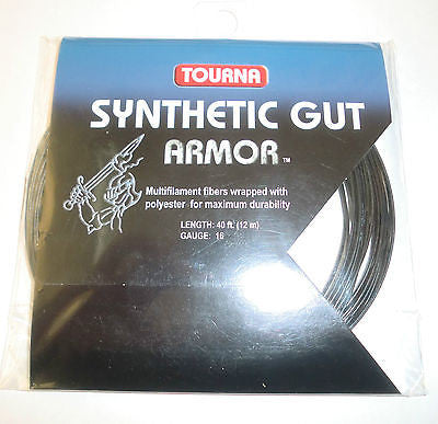 Tourna Synthetic Gut Armor Tennis String Set