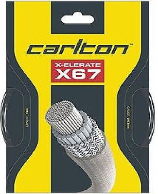 Carlton X-Elerate X67 Badminton String - 0.67mm
