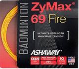 Ashaway ZyMax 69 Fire Badminton String Set - 0.69mm
