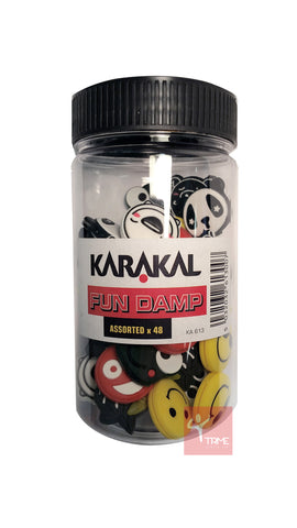 Karakal Assorted Fun Damp (48 Dampeners Included)