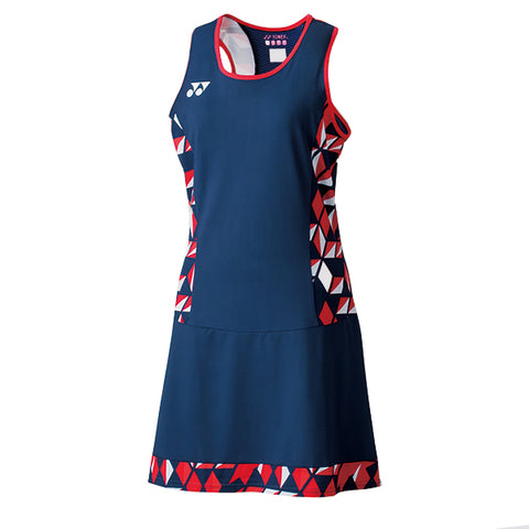 Yonex 20519 Women's Tournament Dress - Indigo Blue