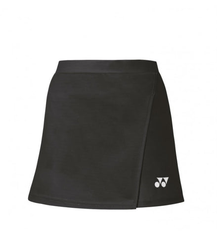 Yonex 26061 Women's Skort with Inner Shorts - Black  (Donated by Badminton Player Lauren Smith)