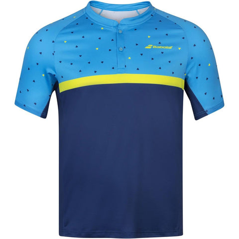 Babolat Mens Compete Polo - Malibu / Estate Blue
