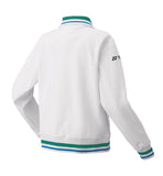 Yonex 75th Anniversary 57064A Women's Warm-Up Jacket - White