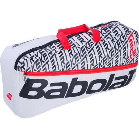 Babolat Pure Strike Duffel Bag - White/Red