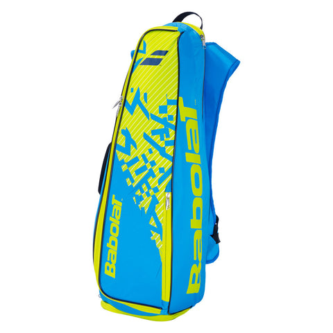 Babolat Backracq 8 Racket Bag (Blue-Yellow-Lime)