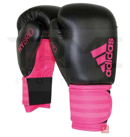 Adidas Hybrid Boxing Gloves Pink