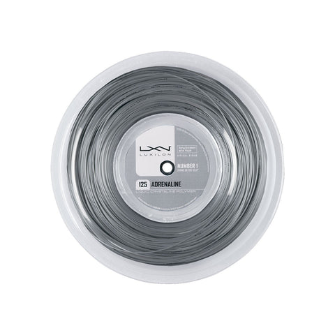Luxilon Adrenaline Tennis String 200m Reel (Platinum)