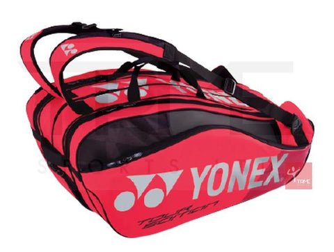 Yonex 9829 Pro 9 Racket Bag - Flame Red