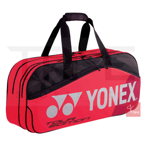 Yonex 9831W Pro Tournament Bag - Flame Red