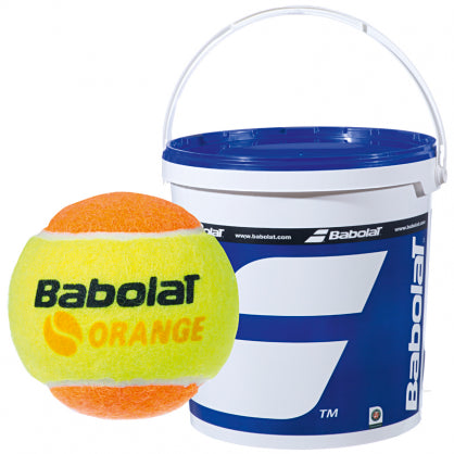 Babolat Stage 2 Orange Junior Tennis Ball 36 Ball Bucket
