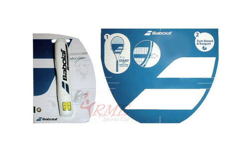 Babolat Badminton Racket String Stencil and Ink Marker