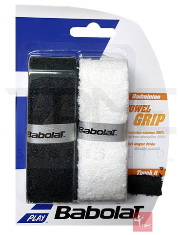 Babolat Badminton Towel Grip (Pack of 2)