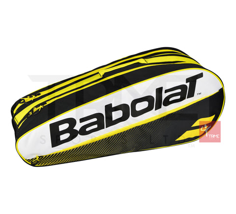 Babolat Club Line Classic 6 Racket Bag - Yellow