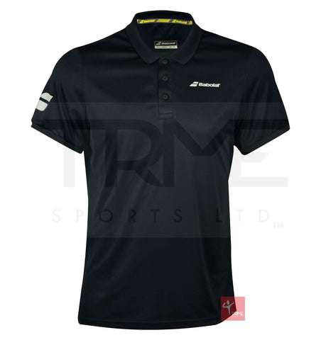 Babolat Mens Core Club Polo - Black
