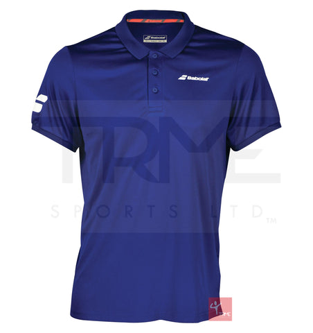 Babolat Mens Core Club Polo - Estate Blue