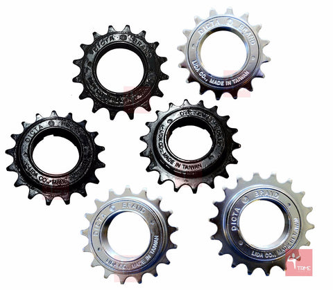 Dicta Nickel Black BMX Freewheel