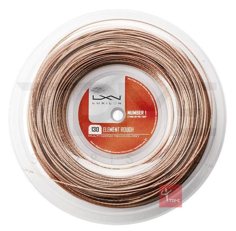 Luxilon Element Rough 130 Tennis String 200m Reel