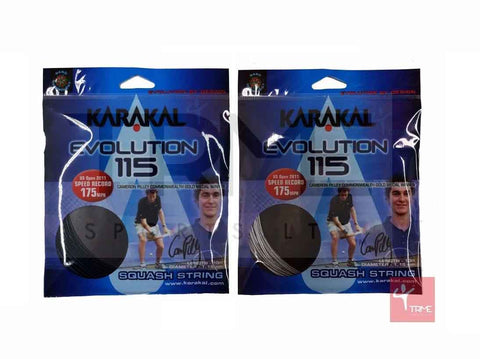 Karakal Evolution 115 Squash String Set