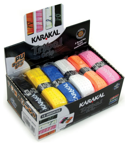 Karakal Tribal Replacement Grip 12 Pack