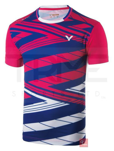 Victor Korea Badminton Team Shirt 6448 Unisex