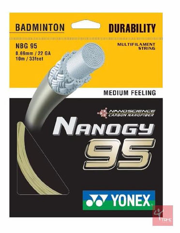 Yonex Nanogy 95 Badminton String Set - Cosmic Gold