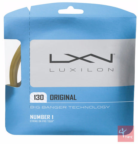 Luxilon Big Banger Original 130 Tennis String Set