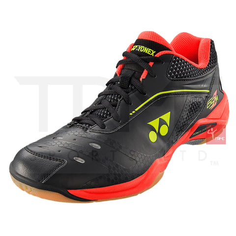Yonex SHB65ZM Power Cushion 65 Z Mens Badminton Shoes - Black/Red
