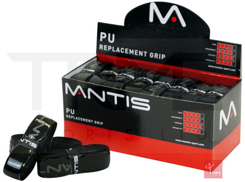 Mantis PU Replacement Grip Pack of 24 - Black