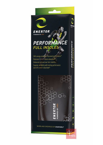 ENERTOR Performance Insoles - Endorsed by Usain Bolt